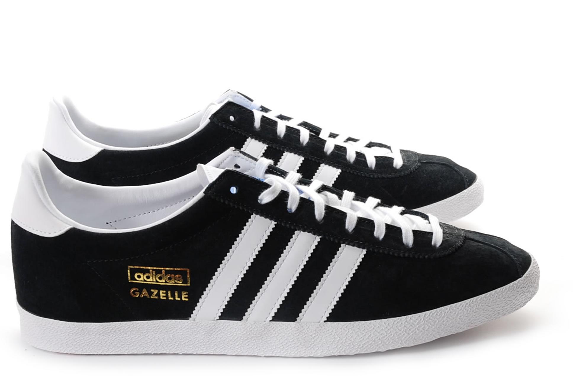 adidas gazelle og noir pas cher,adidas Originals Gazelle Og Baskets basses Mixte Adulte