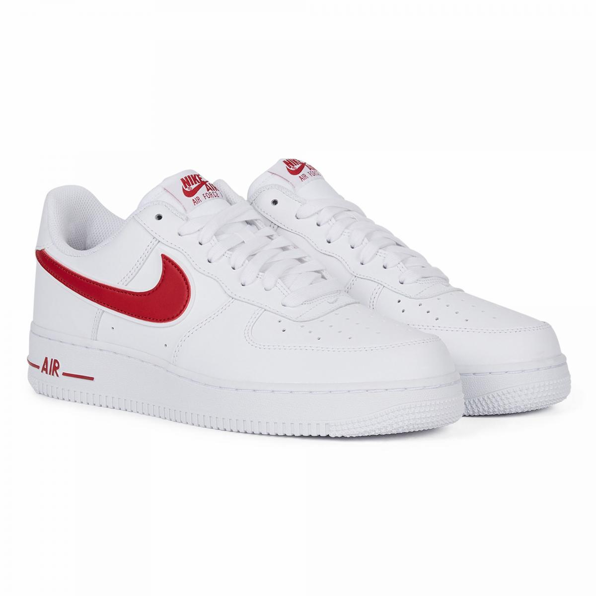 air force 1 suede rouge