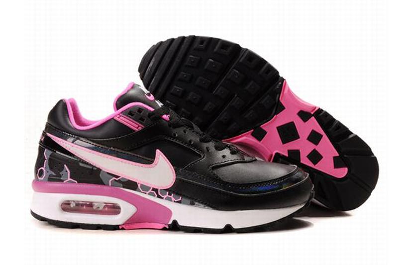 air max 2015 classic noir et blanche femme,Nike Air Max Classic BW Chaussures Femme Noir Blanc Rose [N