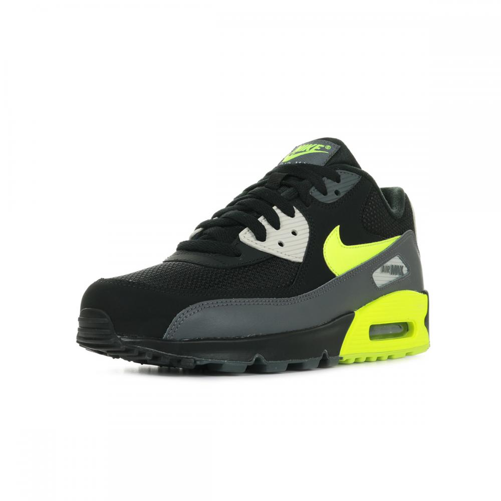 air max noir jaune