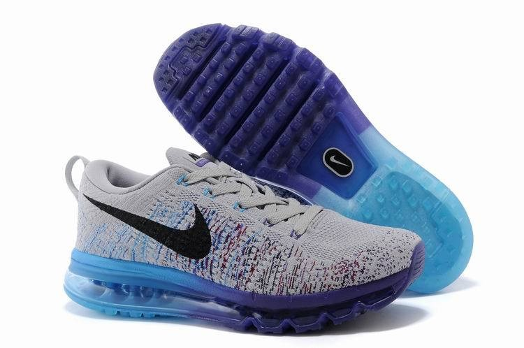 Officiel Nike Air Max 270 Flyknit Chaussures Nike Running Prix Pas Cher Pour Homme Blanc Bleu AO1023 101 1812262522 Officiel Nike Site! Chaussures Tn