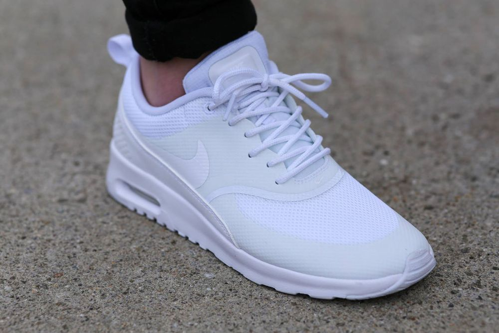 air max thea premium blanche homme,NikeLab Air Trainer 1 Mid x Fragment 'US Open' Zapatos