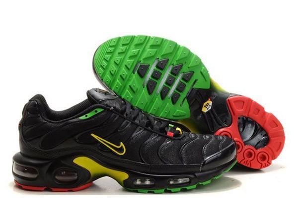 chaussure nike tn vert