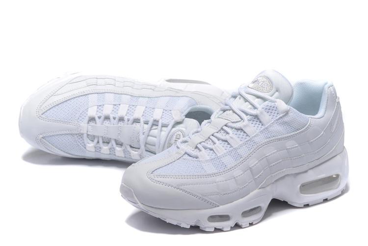 chaussure homme nike air max 95 blanche