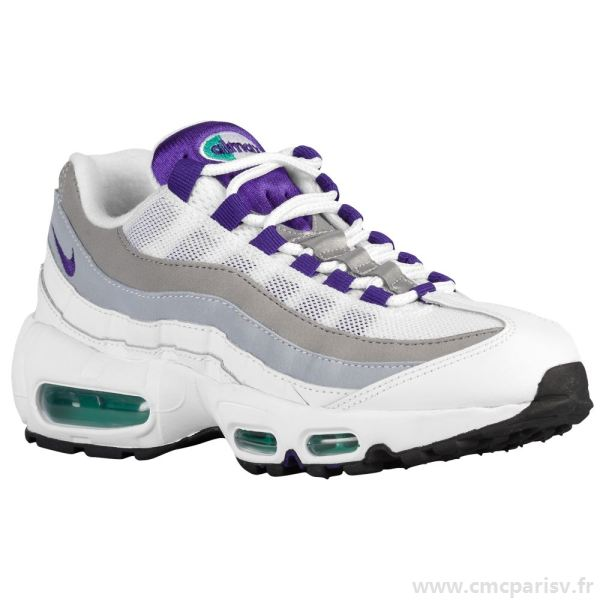 air max 95 homme blanche violet